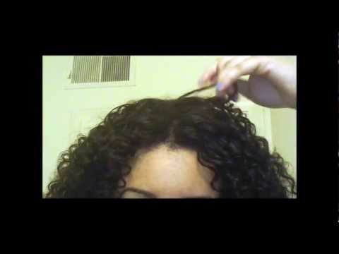 Perfect Blending for Curly U-Part Wig or Weave (without heat)