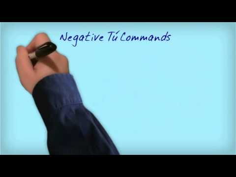 Spanish Imperative Commands