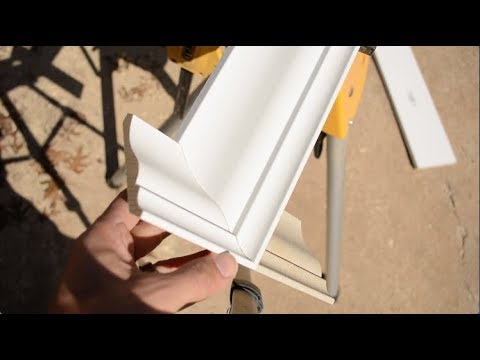 COPING TRIM WITH AN ANGLE GRINDER - F I R S T - T R Y