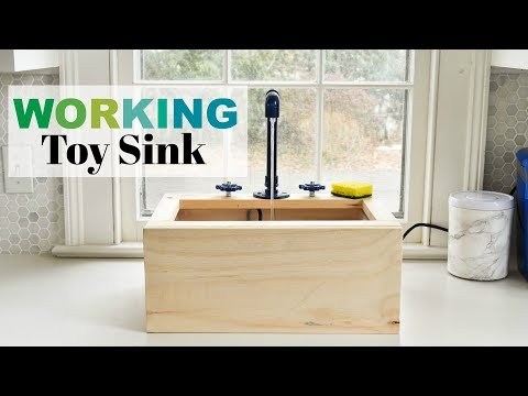 DIY Working Toy Sink