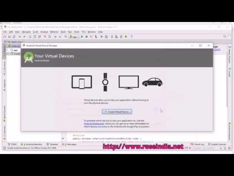Create Virtual Device in Android Studio