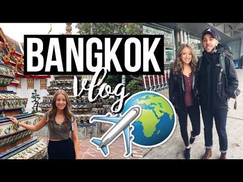 BANGKOK VLOG | Golden Buddha, Temples & Hostel Life