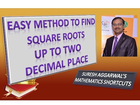 Trick 174 - Shortcut to Find Square Root up to Two Decimal Place