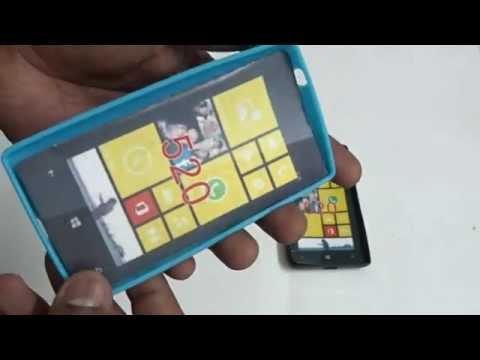 Nokia Lumia 520 Mobile Mobile Colour Silicone Back Case Pouch