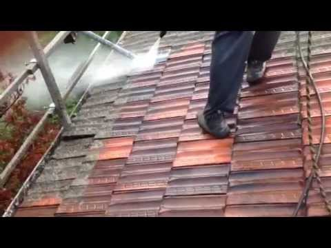 Roof High Pressure Cleaning/De-Mossing