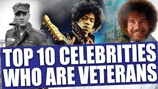 10 awesome celebrities who served in the military