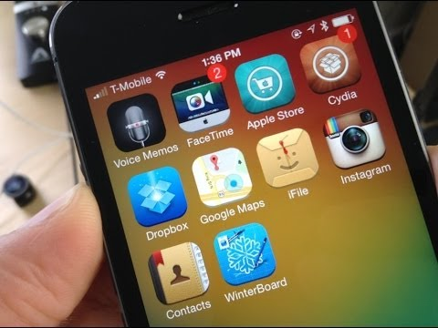How to Make A Cydia (Winterboard) Theme iOS 7 | No Computer Part 1