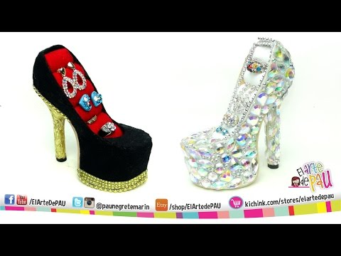 ❥DIY PRO High Heel Jewelry Holder / Zapato Alhajero PROFESIONAL