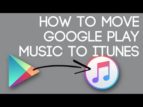 Import Google Play Music to iTunes