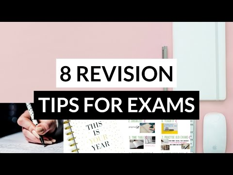 How to Revise For Exams Effectively: 8 Revision Techniques That Actually Work! *Study Tips 2017*