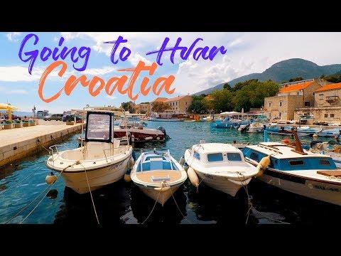 GETTING TO HVAR BY CATAMARAN || BOL, BRAC || TRAVEL CROATIA || CROATIA VLOG #17