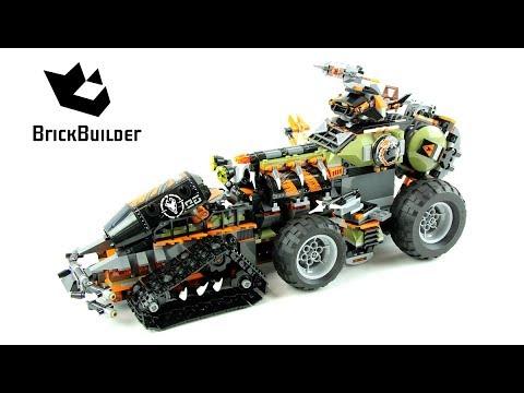 Lego Ninjago 70654 Dieselnaut - Lego Speed build
