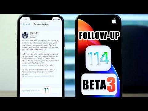 iOS 11.4 beta 2 & iOS 11.3.1 follow up & iOS 11.4 beta 3 Release Date