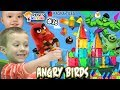 Download  Chase's Corner: Magna Tiles with Angry Birds & Hulk (#36)   DOH MUCH FUN MP3,3GP,MP4