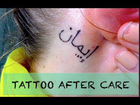 New Tattoo: How To Take Care of Your Tattoo