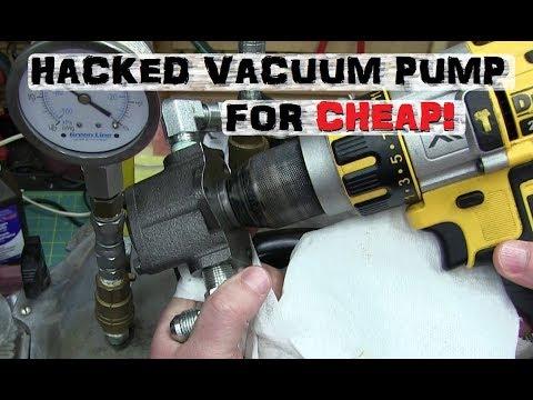 Vacuum Pump Hydraulics | Cheap Hacks