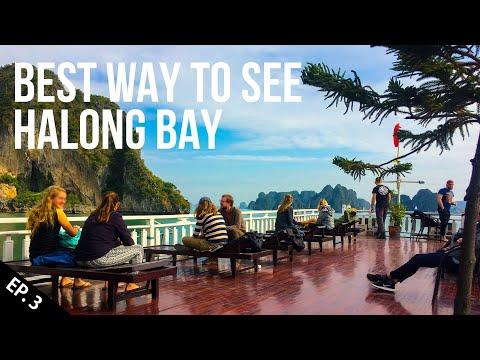 Halong Bay, Vietnam Overnight on a Cruise | Episode 3