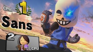 Undertale Mii Fighter CPU Tournament