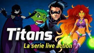 TODO LO QUE DEBES SABER DE LA SERIE TITANS LIVE ACTION!!