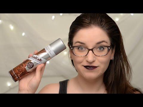 Batiste Dry Shampoo Dark & Deep Brown Review & Demo | CORRIE SIDE