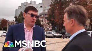 Ex-Ukraine Prosecutor Says He Spoke With Rudy Giuliani