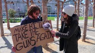 Anti-Gun Protesters Show How Little They Know at March For Our Lives SF | FLECCAS TALKS
