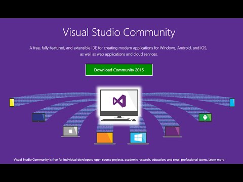 Download and Install Visual Studio 2015 (Community Edition)