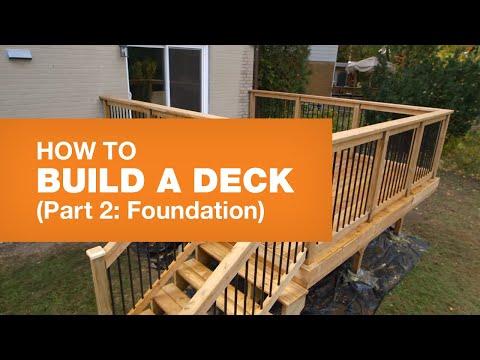 HOW TO BUILD A DECK PART 2: TOOLS & MATERIALS