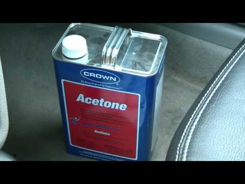 Acetone gasoline saver? Gas saving tips. DIY