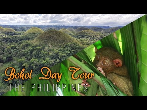 BOHOL DAY TOUR - PHILIPPINES VLOG 03