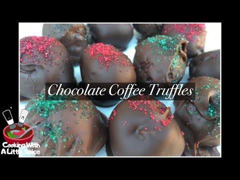 Chocolate Coffee Truffles | Holiday Candy Recipe