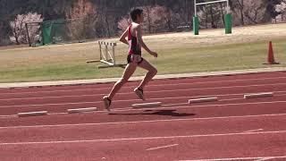 平成31年度 第1回京都産業大学長距離競技会 男子3000msc