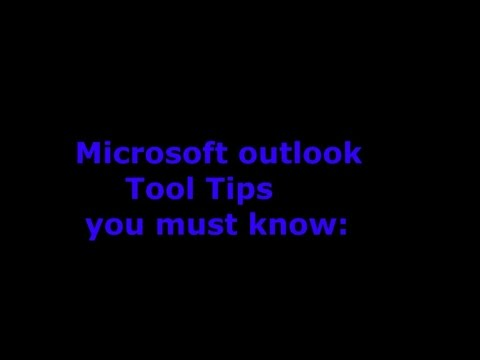 Microsoft outlook tool tips you must know by mykhmerhub com