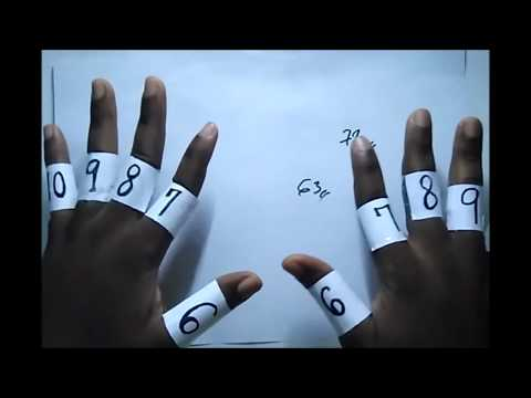 How to Learn Times Table FAST using your Hands