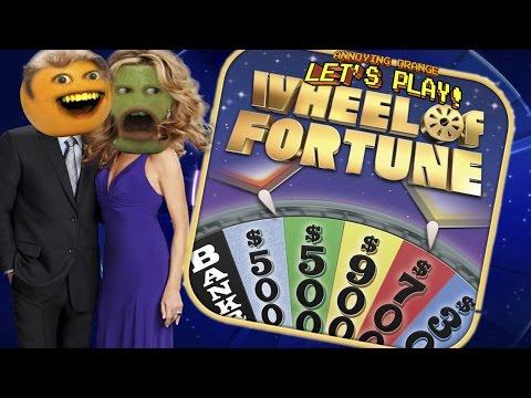 Annoying Orange & Pear Play - Wheel of Fortune