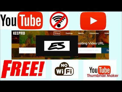How to watch YouTube videos offline(without wifi or internet)?!