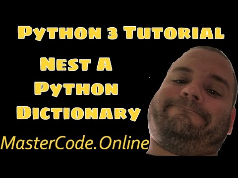 How To Nest A Dictionary in Python 3