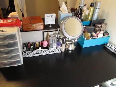 Makeup Storage Makeover! Getting Organized