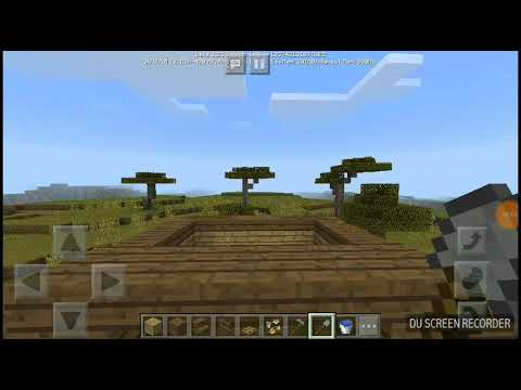 How to build a pointy roof in minecraft