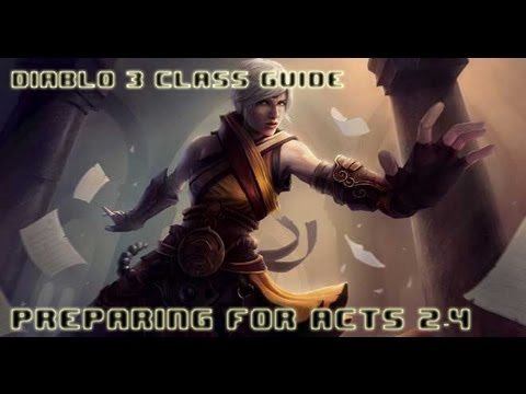 TryHard: Monk Guide - Farming Act 1 - Preparing for Acts 2 - 4