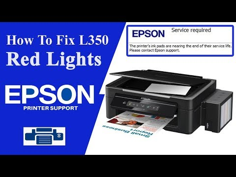 Resetter Epson l355 | Service Required | Epson Adjustment Program