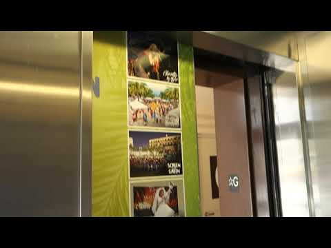 Montgomery-KONE Hydraulic Elevator @ Evernia Street Parking Garage, West Palm Beach, FL, USA.