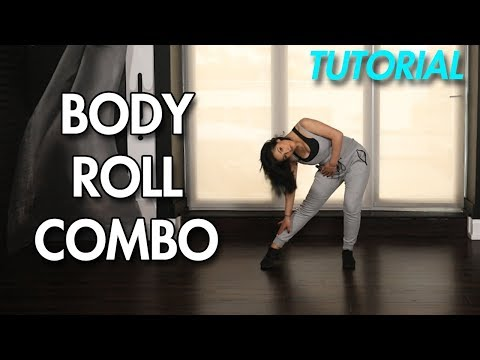 How to Body Roll [Combo] (Hip Hop Dance Moves Tutorial) | MihranTV