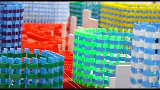 300,000 Dominoes Buildup - Turkish Domino Record! (Pt. 1)
