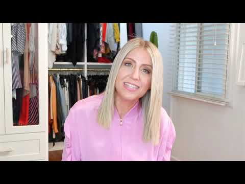 Spring Fashion with Lindsay Albanese - Clear Cat Eye Glasses