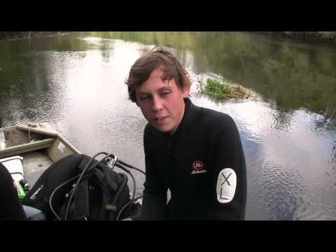 Weekend Prospectors: Fossil & Artifact Black Water Diving 2