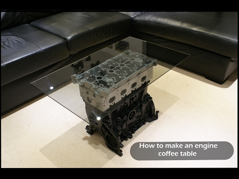How to make an engine coffee table Top Gear style