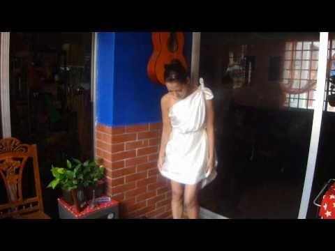 How To Make Greecian Toga / Cupid costume