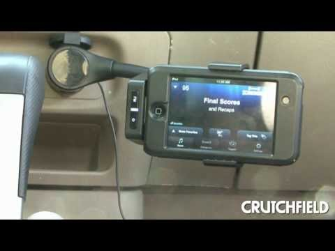XM SkyDock Adds Satellite Radio through iPhone | Crutchfield Video