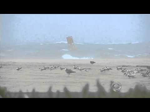 Irene causes minimal damage in Ocean City, Md.